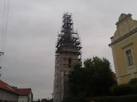 Kostelní věž - Mělnické Vtelno