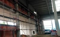 Lešení v tovární hale - Jičín