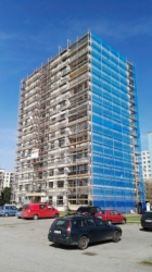 Oprava fasády - Beroun